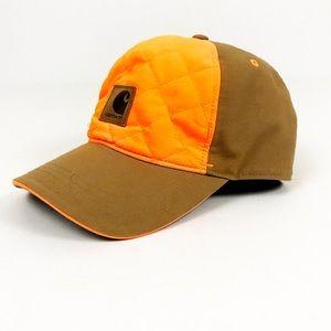 """CARHARTT Men """"Quick Duck"""" Orange Hunting Hat"""